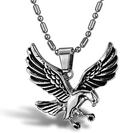 Cool Eagle Shaped Pendant Men's Necklace