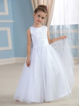 Ericdress mignon Bowknot Flower Girl Dress