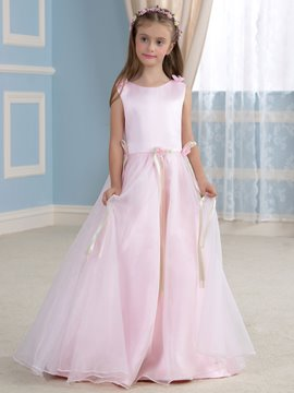 Ericdress Beautiful Flowers A Line Flower Girl Dress