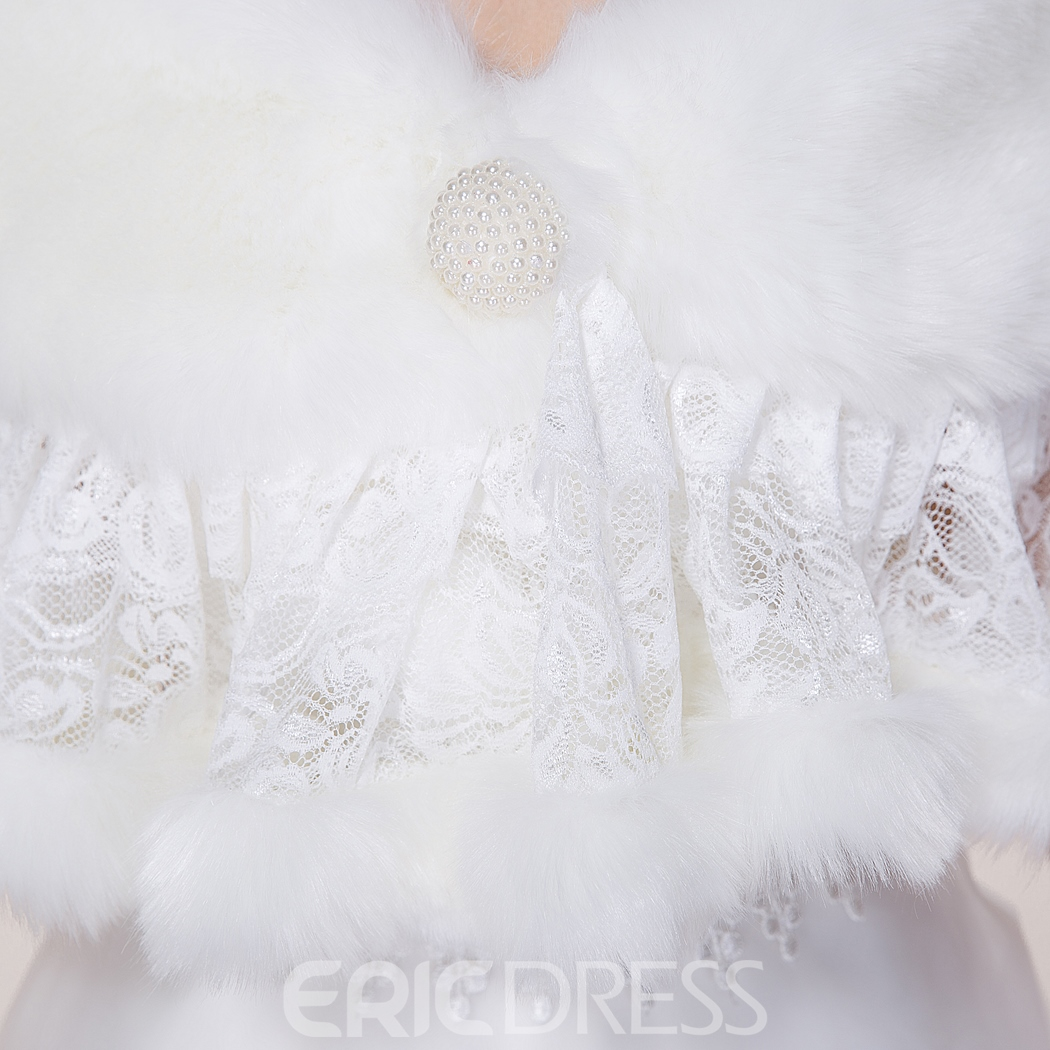 Ericdress Amazing Faux Fur Wedding Wrap