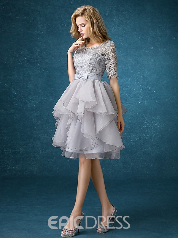 Ericdress High Quality Lace Knee Length Bridesmaid Dress