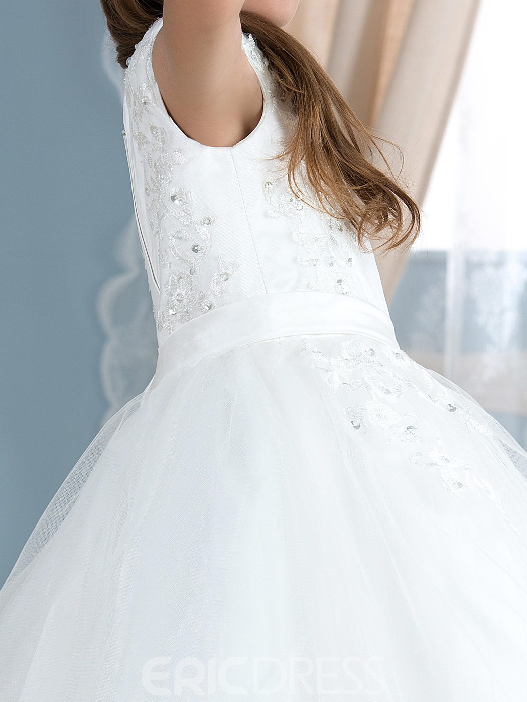 Ericdress Charming Tulle Flower Girl Dress