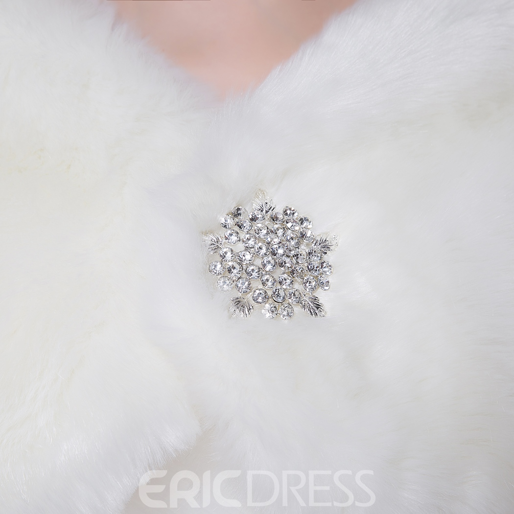Ericdress Charming Faux Fur Wedding Wrap