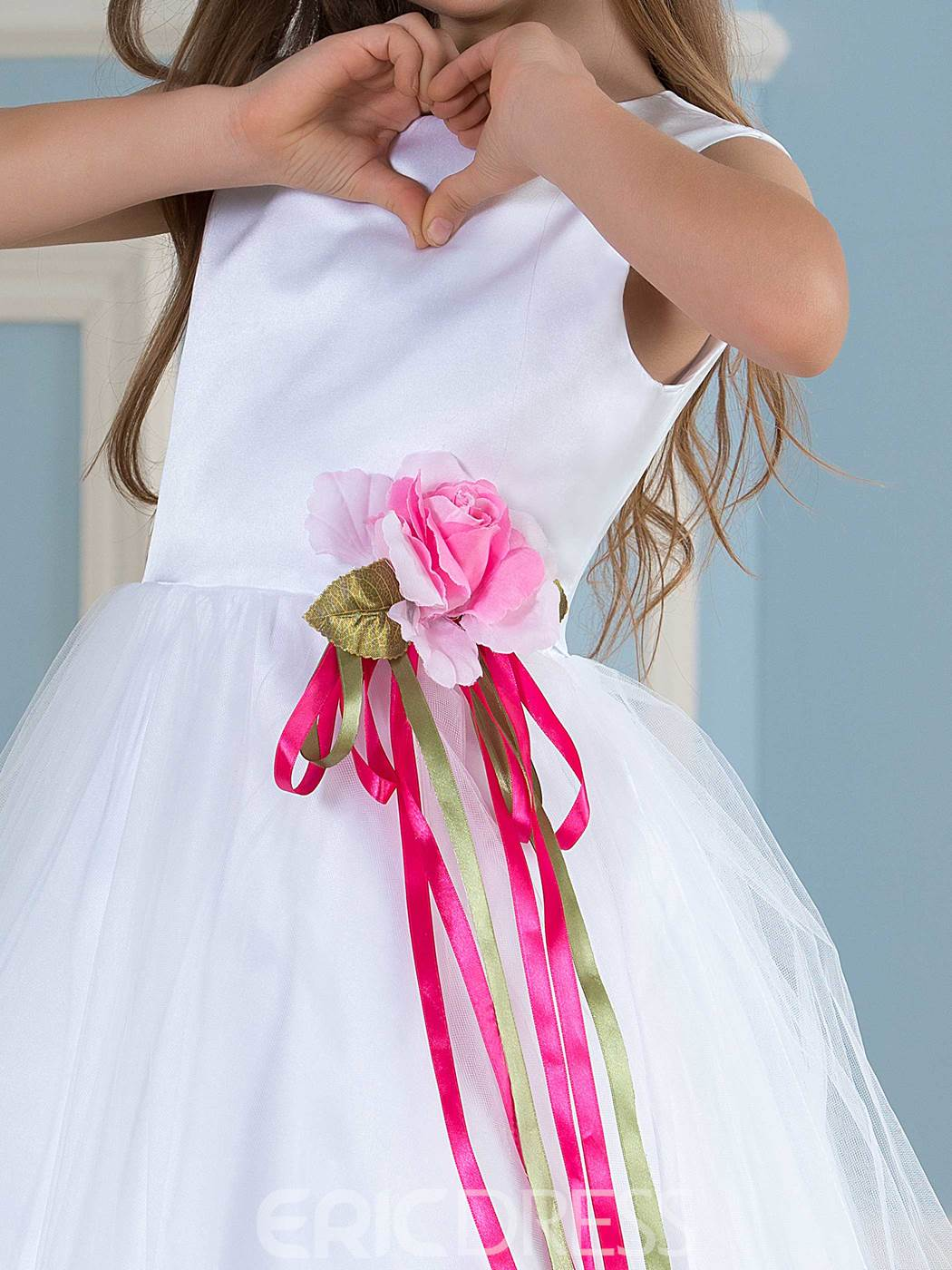 Ericdress Fancy A Line Flower Girl Dress
