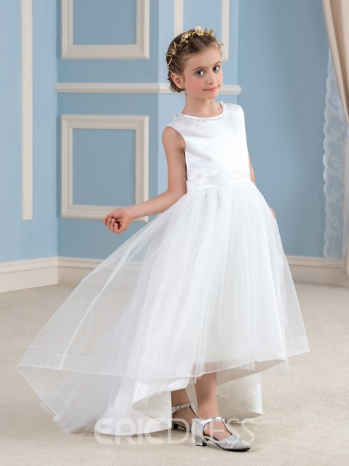 Ericdress Beautiful Lace A line Flower Girl Dress