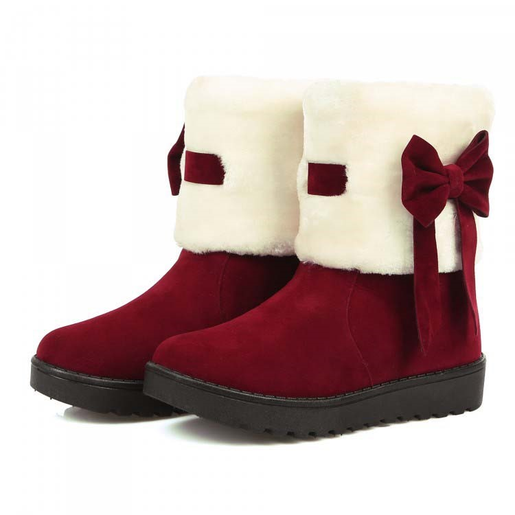 Ericdress Sweet Bowtie Ankle Boots