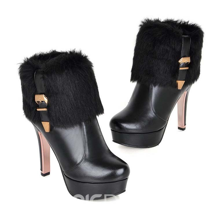 Ericdress Elegant Knight Boots with Buckles