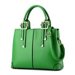 Ericdress Solid Color Thread Decorated Handbag