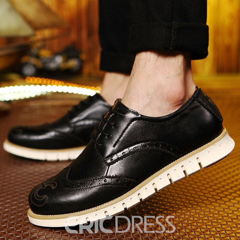 Ericdress Lace Up Men's Brogues