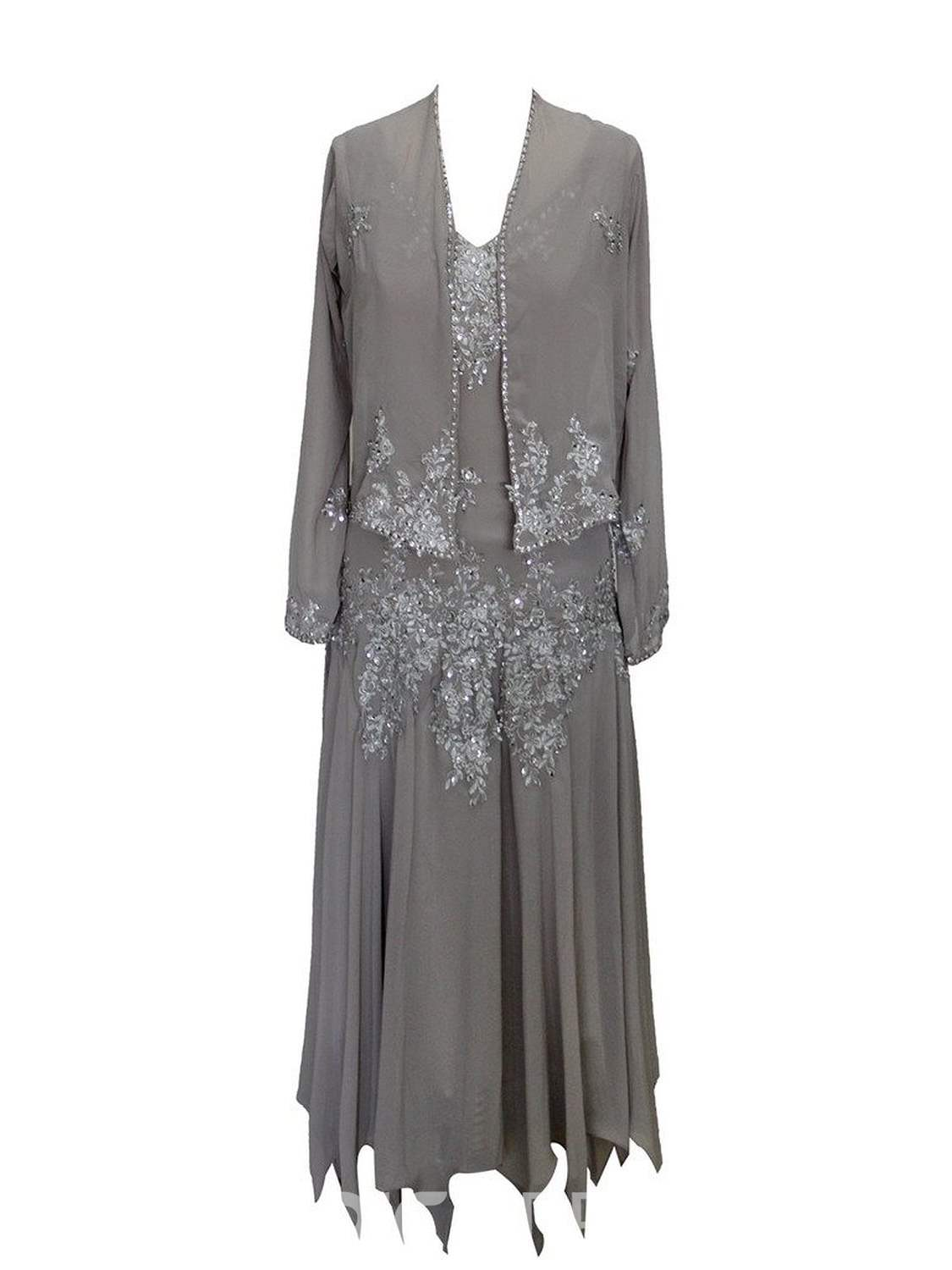 Ericdress Beautiful Beaded High Low Mother Of The Bride Dress