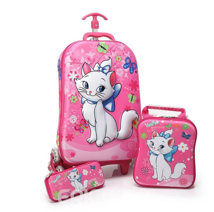 Ericdress Cartoon Casual Trolley Bags