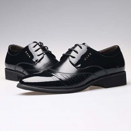 Ericdress British Point Toe Lace up Men's Oxfords