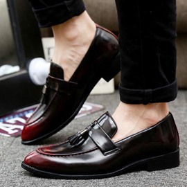 Ericdress Retro Tassels Brush Off Men's Oxfords