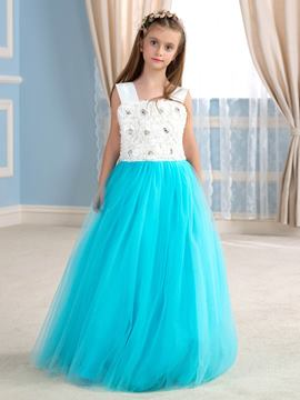 Ericdress Beautiful Straps Lace Flower Girl Dress