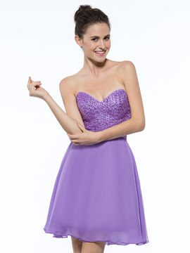 Ericdress Sweetheart perles robe de Homecoming court