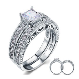 Ericdress Love Heart Diamond Ring
