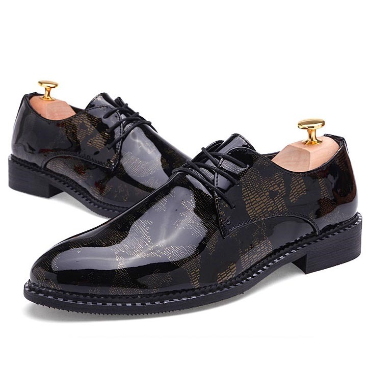 Ericdress Patchwork Point Toe Men's Oxfords