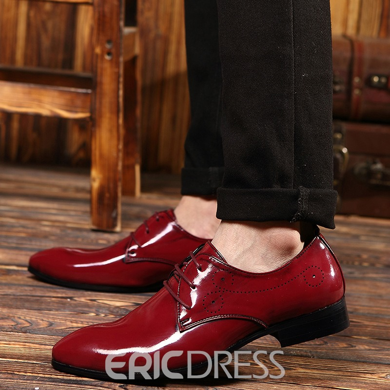Ericdress Pointed Toe Men's Brogues