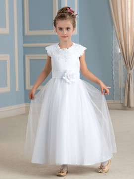 Ericdress bijou une ligne Flower Girl Dress