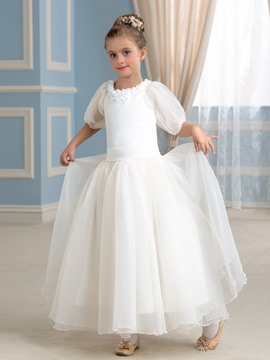 Ericdress Beautiful Half Sleeves A Line Flower Girl Dress