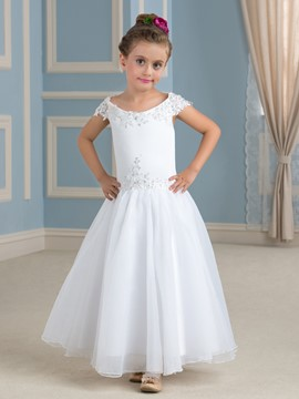 Ericdress charmant hors de l'épaule A ligne Flower Girl Dress