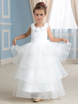 Ericdress Charming Bowknot A Line Flower Girl Dress