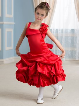 Ericdress Cute Straps Flower Girl Dress