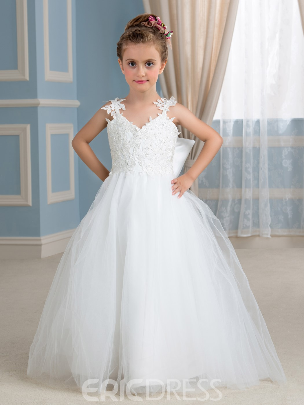 Cheap Vintage Flower Girl Dresses Online Ericdress