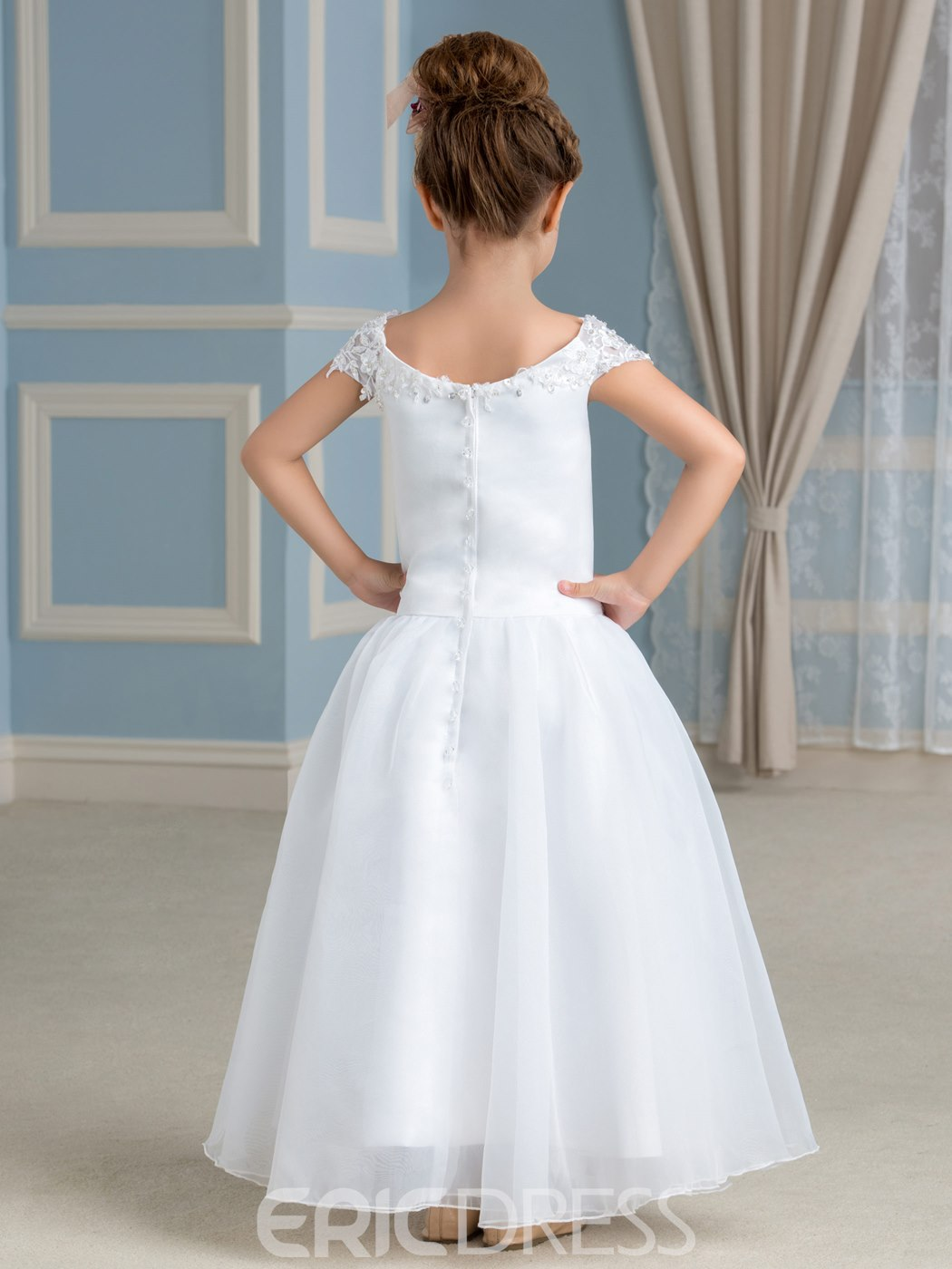 Ericdress Charming Off The Shoulder A Line Flower Girl Dress