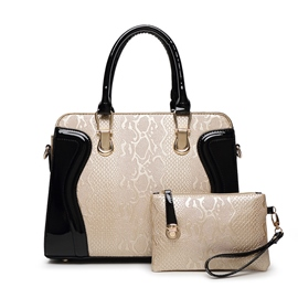 Serpentina de Ericdress relieve Handbags(2 Bags)