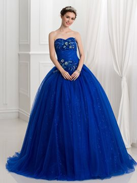 Ericdress Sweetheart applications perles paillettes robe boule robe de Quinceanera