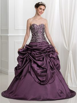 ericdress schatz pick-ups stickerei pailletten ballkleid quinceanera kleid