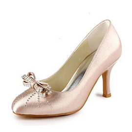 Ericdress Satin Pink Wedding Shoes