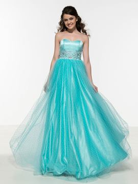 Ericdress Sweetheart Appliques Beading Prom Dress