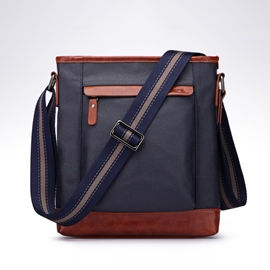 Ericdress Casual Canvas Crossbody Bag For Men