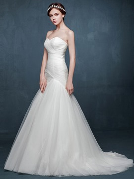 Ericdress High Quality Sweetheart Mermaid Wedding Dress