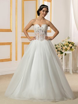 Ericdress Charming Sweetheart Wedding Dress