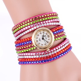 Ericdress Trendy Multi-Layer Waist Watch