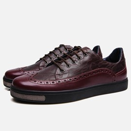 Ericdress Vintage Patchwork Men's Brogues