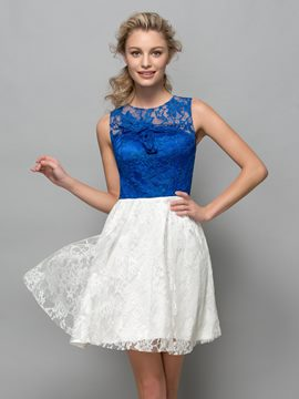 Ericdress A-Line Lace Short Cocktail Dress