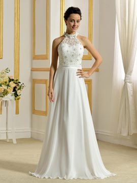 Ericdress Classical Halter A Line Wedding Dress