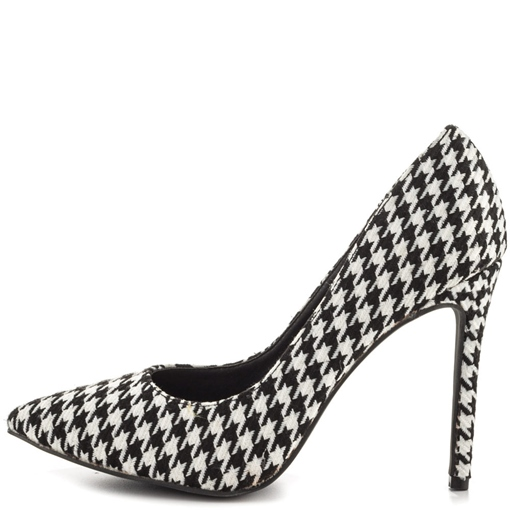 Ericdress Houndstooth Point Toe Pumps