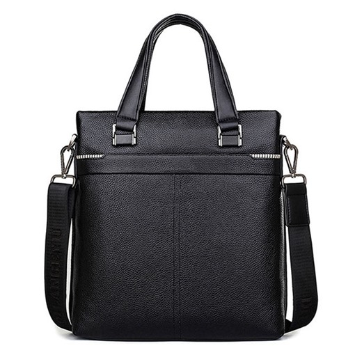 Ericdress PU Belt-Decorated OL Square Men's Tote Bags
