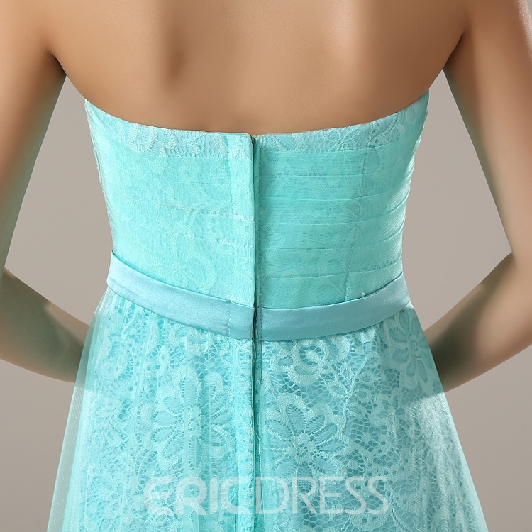 Ericdress Beautiful Lace Long Bridesmaid Dress
