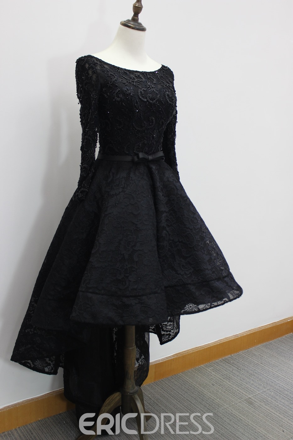 Ericdress Bateau Neck Beading Lace Halloween Evening Dress