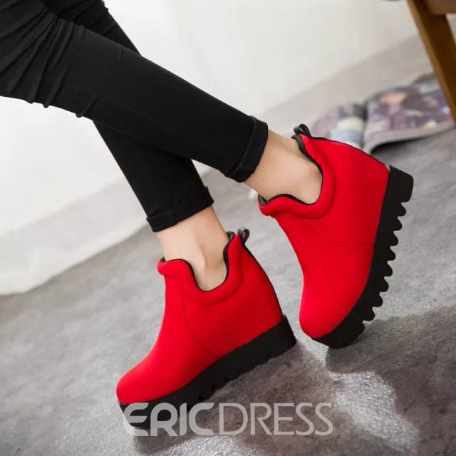Ericdress All Matched Ankle Boots