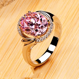 Ericdress Forever Love Diamond Ring