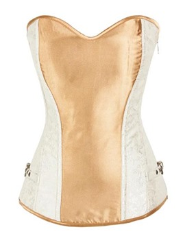 Ericdres Color Block Strapless Corset