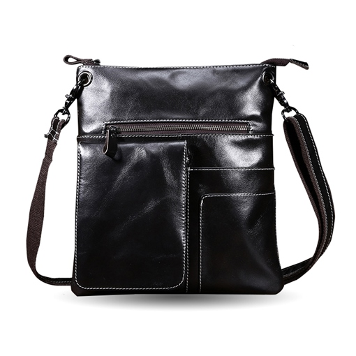 Ericdress Plain European Thread Men's Shoulder Bags