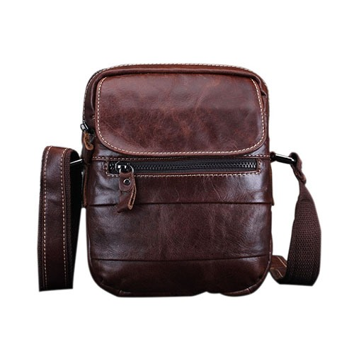 Ericdress Fashion Plain PU Rectangle Men's Shoulder Bags